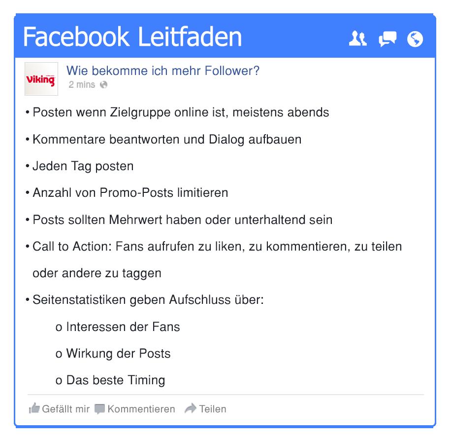 facebook für kleinunternehmen
