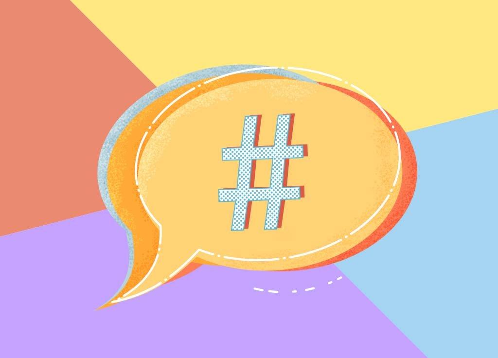 wie geht hashtag